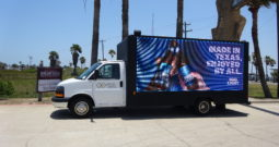 SOLD-2015 GMC Savana P8 LED Billboard Truck