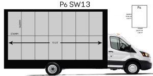 LED mobile digital billboard truck manufacturing for sale
