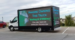Brand New P5 SW-15 LED Billboard Truck