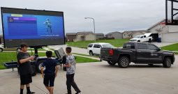 Used P6.67 LED Video Wall Trailer